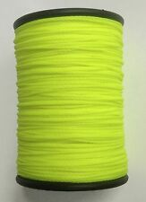 Flo YELLOW BCY Nock & Peep Bow String Serving Bowstring Nylon