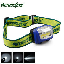 Mini Headlight Adjustable Waterproof 300Lumens LED Torch Headlamp 3-Mode