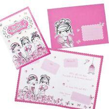Geburtstag ~~ 8 Einladungskarten BFF Kindergeburtstag Mädchen Einladungen Party
