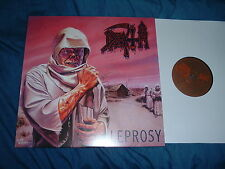 DEATH Leprosy LP classic death metal UNPLAYED MINT !!!