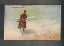 1907 Guelph Canada Postcard Cover Toronto RCMP Mounted Police on Winter Patrol