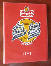 1993 MLB Humpty Dumpty Star Cards Full Set 51/51 with Album / Sealed Cards
