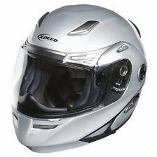 Xpeed Roadster Modular Flip-Up Motorcycle Street Helmet Solid Silver SM SML