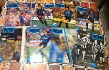 """Lotto di nr.8 fascicoli de """"La storia illustrata dell'Inter"""" dal 4 al12(no il 6"""