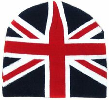Union Jack Winter Warm Beanie Hat Mens/Ladies One Size Souvenirs Gifts EN0401