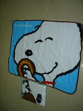 animal printed kid's bedroom polyeste baby blanket, snoopy, disney blanket