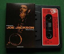 Joe Jackson Body and Soul inc Happy Ending & Heart Of Ice + Cassette Tape TESTED