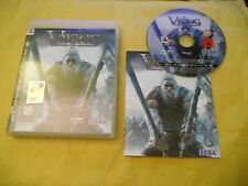 PS3 GAME: VIKING-BATTLE FOR ASGARD-SONY PLAYSTATION-PS1-PS2-PS3-ING