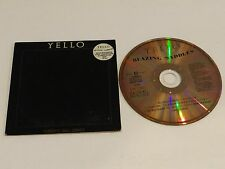 YELLO Blazing Saddles RARE OOP UK Import CD Heat Sensitive Sleeve 1989 4 Tracks