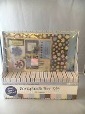 Colorbok All Occasion Scrapbook Box Kit 1000+ Pieces Buttons Brads Stickers