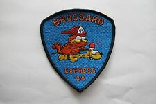 BROSSARD EXPRESS 44 EMBROIDERY APPLIQUE PATCH