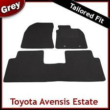 Toyota Avensis Estate Mk3 2009 2010 2011 onwards Tailored Carpet Car Mats GREY