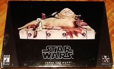 STAR WARS STATUE DIORAMA ATTAKUS SIDESHOW GENTLE GIANT JABBA THE HUTT DIORAMA
