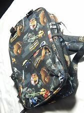 "Angry Birds Star Wars 16"" Large Backpack with water holder school bag Boys Girls"