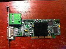 Vintage Matrox Millenium G550 AGP graphic card 32MB