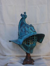 Life size wearable cold cast Roman Gladiator helmet armor armour padding inside