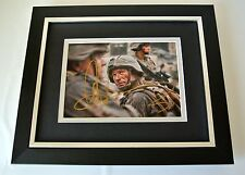 Aaron Eckhart SIGNED 10x8 FRAMED Photo Autograph Display Battle Los Angeles Film