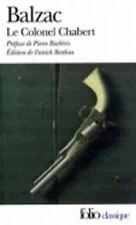 Le Colonel Chabert by Patrick Berthier and Honoré de Balzac (1999, Paperback)