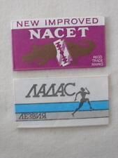 VINTAGE NACET AND ONE OTHER FOREIGN RAZOR BLADE