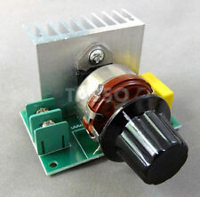 Speed Temperatur Volt Regler Regulator 0-220V 3800W SCR Spannungsregler Dimmer