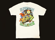 SUPERMAN DC Comics Lex Luthor T-Shirt Color: White   Size: Adult LARGE