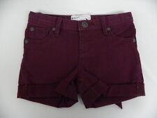 Roxy Kids Sz 5 Medium Denim Shorts TW Lisy Patch Grape wine