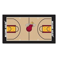 "Miami Heat Large Basketball Court Runner Area Rug Mat 30"" X 54"""