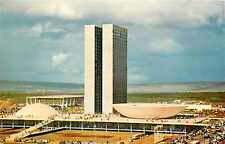 Airport at BRASILIA Brazil - Old VARIG AIRLINE Issued Postcard, c. 1955