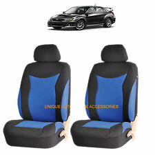 BLUE SPEED AIRBAG COMPATIBLE LOWBACK SEAT COVER SET for SUBARU IMPREZA LEGACY