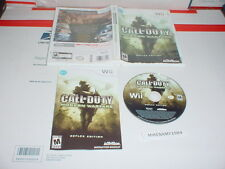 CALL OF DUTY: MODERN WARFARE REFLEX game complete in case - Nintendo Wii