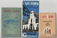 2 - 1951 Tourist Booklets & A Travel Brochure on Capetown South Africa