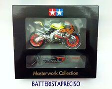 VALENTINO ROSSI TAMIYA MASTERWORK 1/12 HONDA RC211V 2003 GP VALENCIA FINISHED