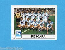 PANINI CALCIATORI 1989/90 -Figurina n.456- SQUADRA - PESCARA -Recuperata