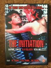 Daphne Zuniga Vera Miles Clu Gulager THE INITIATION ~ 1984 Cult Horror | UK DVD