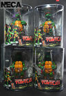 4 PCS Brand New NECA Teenage Mutant Ninja Turtles TMNT 15cm 5.9