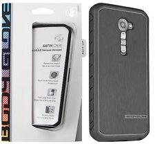 OEM Body Glove Satin Snap On Case Cover for LG Optimus G2 Black Verizon VS980