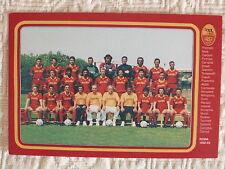 CARTOLINA CALCIO SQUADRA A.S. ROMA 1992/93 GIANNINI NELA BOSKOV MIHAJILOVIC COMI