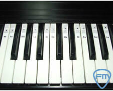 PIANO KEYBOARD Music Note Stickers