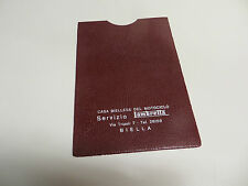 LAMBRETTA ORIGINALE ITALIANO Dealer documento Pouch nn in Marrone tv200 SX200