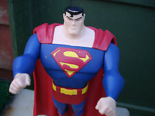"DC Comics Superman Action Figure 10"" Tall Jointed Loose Very Good Condition"