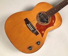 Rare 1969 Klira Triumphator Western Style Electric/Acoustic 12 String