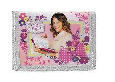 Disney Violetta Flowers Geldbörse Börse Geldbeutel Geldtasche Beutel Tasche rosa