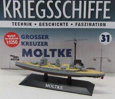Schlachtschiff Kreuzer Moltke ( 1910 ) 1:1250 / ca.15 cm
