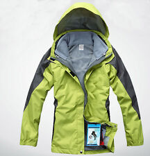 Women Lady 10k Green Ski Snow Snowboard Winter Waterproof  Jacket S M L XL XXL