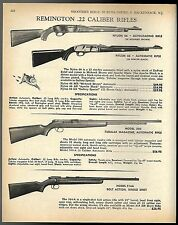 1968 REMINGTON Nylon 66 in Mohawk Brown, Apache Black, 550. 514A Rifle AD