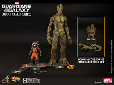 Hot Toys Guardians of the Galaxy Movie Masterpiece Series Rocket and Groot Sixth