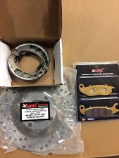 Honda Innova ANF125 ANF 125 Front Rear Brake Disc Pad and Shoe Kit 2003 - 2012