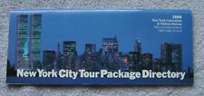 World Trade Center -  Twin Towers - WTC - 1990 NYC Tour Package Directory