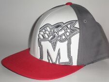 Maryland Terps TAKEOVER 3-Tone Hat Red Grey Medium/Large ($25) NEW One Fit Cap