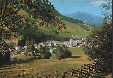 Alte Postkarte - Sommerfrische Saalbach mit Zwölferkogel